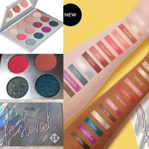 NWT - PUR Cosmetics Festival 2.0 Eyeshadow Palette